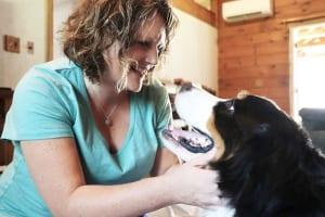 Dr. Tasha Wilson and Dog